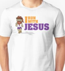 I Run With Jesus Unisex T-Shirt