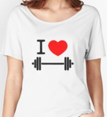 I love weights Women's Relaxed Fit T-Shirt