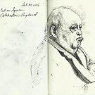 Sketchbook, Culver Square, Colchester, England by Cameron Hampton