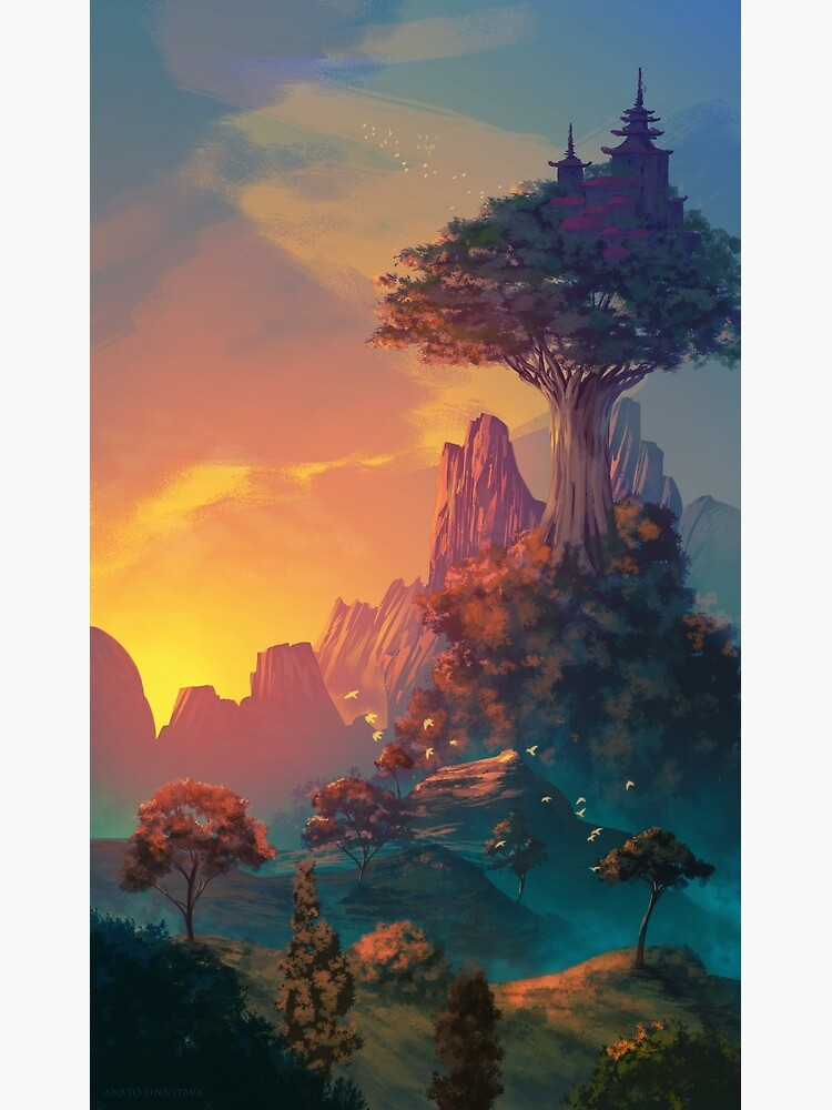 The valley of serenity by Anatofinnstark
