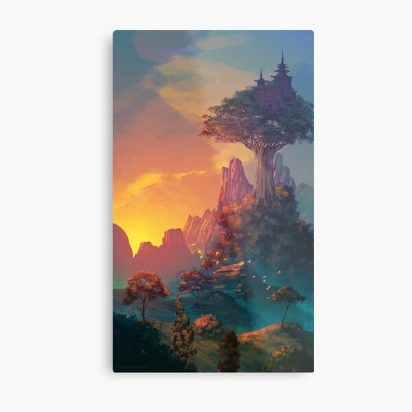The valley of serenity Metal Print