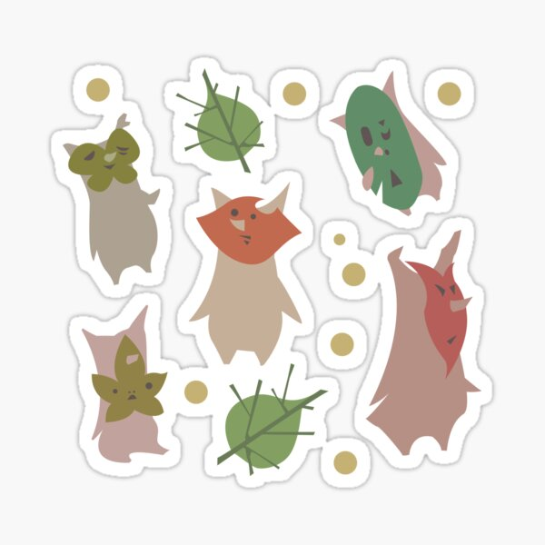 Koroks from the forest Sticker