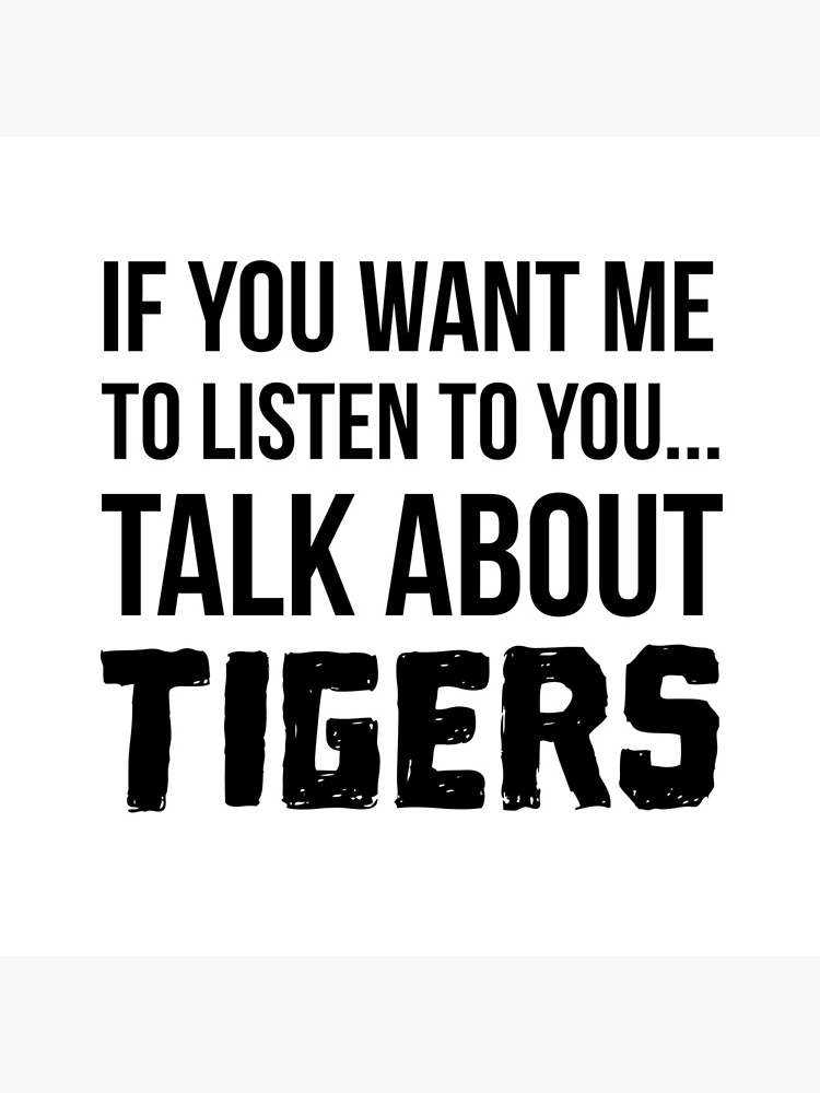 Talk About Tigers by Renware