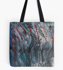 Windy Ocotillo original painting Tote Bag