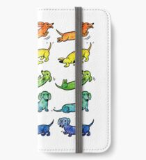 Watercolor Dachshunds iPhone Wallet/Case/Skin