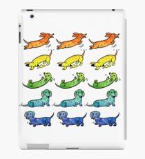 Watercolor Dachshunds iPad Case/Skin