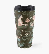Cleansing thoughts and healing herbs Travel Mug