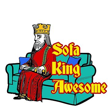 Sofa King Awesome Sticker by INFIDEL