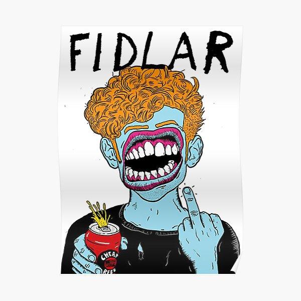Fidlar punk rock band Poster