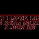 Sehe ich aus Wie ich weiß Was ein JPEG ist? von catofnimes