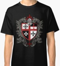 Knights Templar Cross Shield T-Shirt Classic T-Shirt