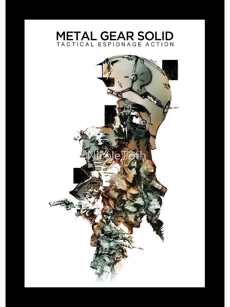 Metal Gear Solid  by NicoleToth