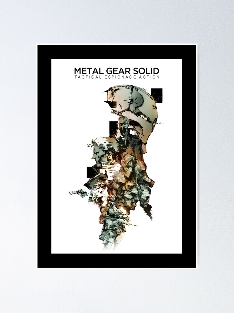 Alternate view of Metal Gear Solid  Poster