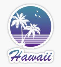 Hawaii vintage style  Sticker