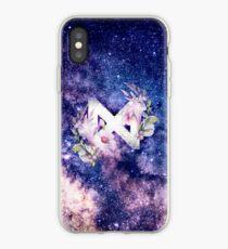 Monsta X Galaxy Flowers iPhone Case