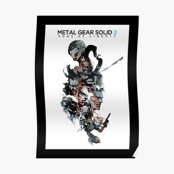 Metal Gear Solid 2: Hijos de la libertad Póster