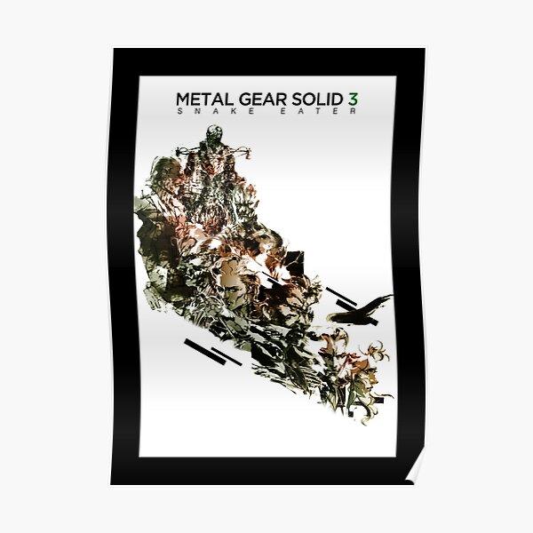 Metal Gear Solid 3: comedor de serpientes Póster
