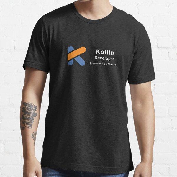 Desarrollador Kotlin Camiseta esencial