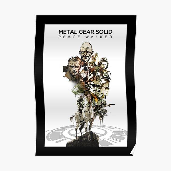 Metal Gear Solid: Peace Walker Poster