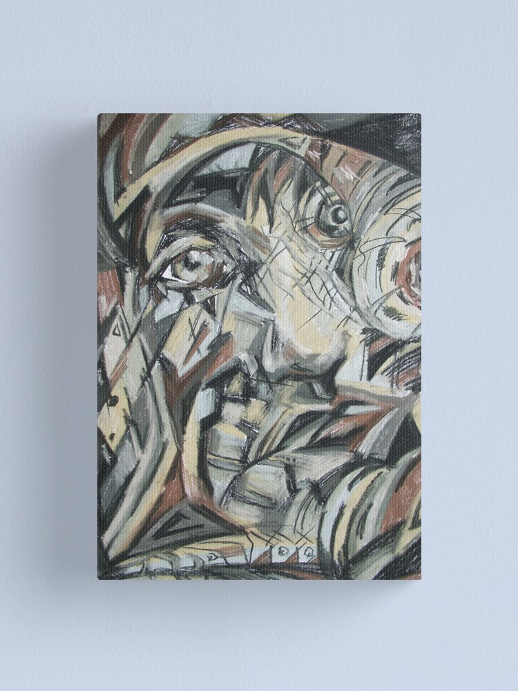 Alternate view of Face Canvas Print