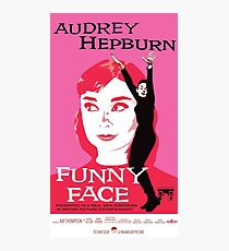 Audrey Hepburn in Funny Face Photographic Print