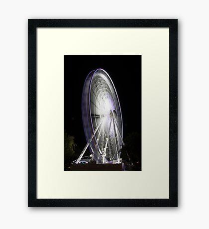 Wheel Of Perth 3 Framed Print