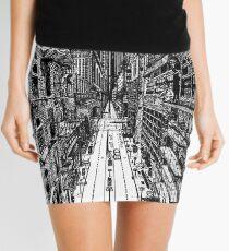 Cityscape Mini Skirt