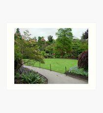 Queen Elizabeth Park Gardens Art Print