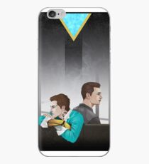 Android and Cyborg Boy. iPhone Case