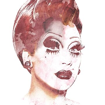 Bianca Del Rio Not Today Satan BACK of T-shirt. by wretchedginger