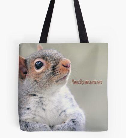 Oliver Twist Squirrel Tote Bag