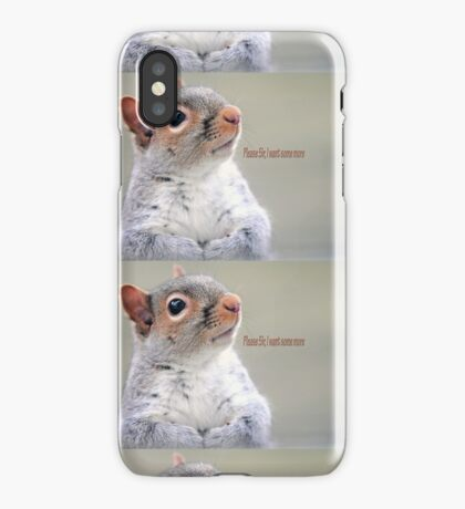 Oliver Twist Squirrel iPhone Case