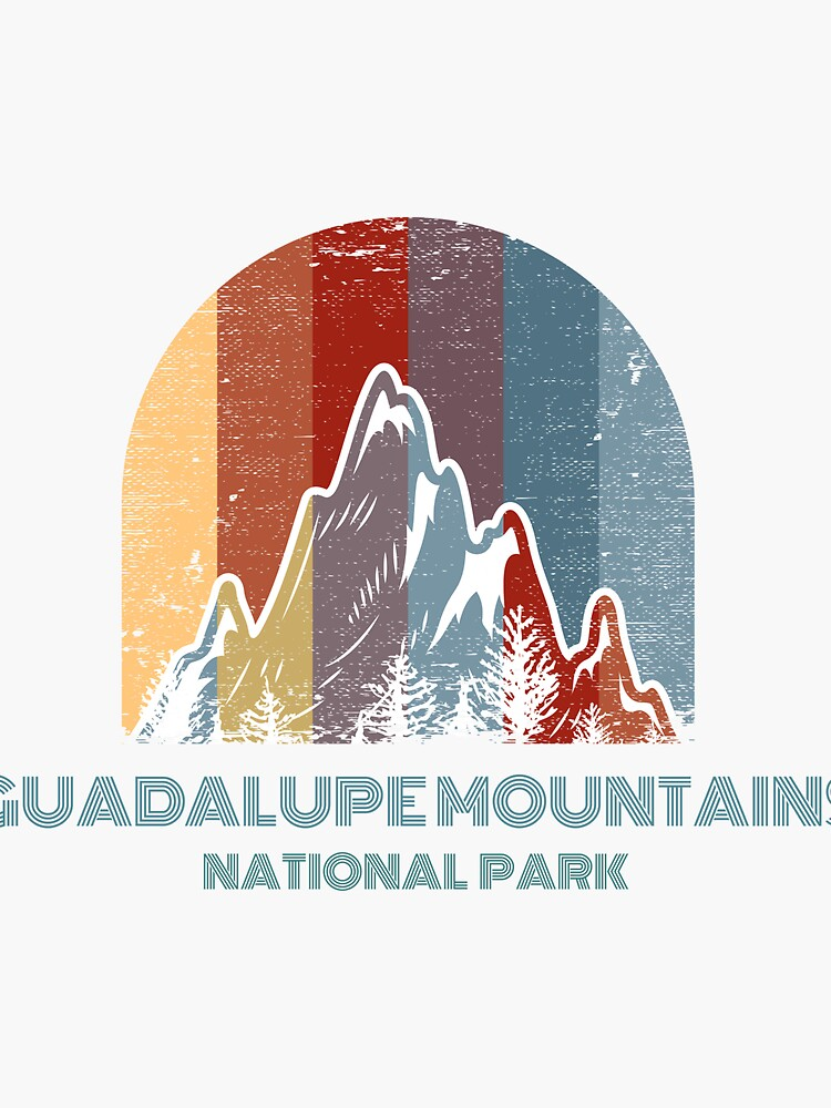 """""""Guadalupe Mountains National Park Texas"""" Sticker by ..."""