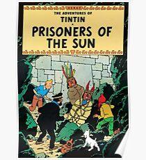 Tintin: Prisoners of the Sun Poster
