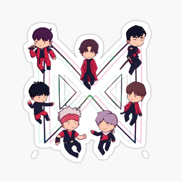 Monsta X Sticker