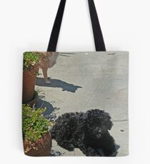 Daisy and Sophie Tote Bag