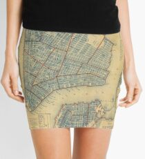 Minifalda Vintage Map of New York City (1846)