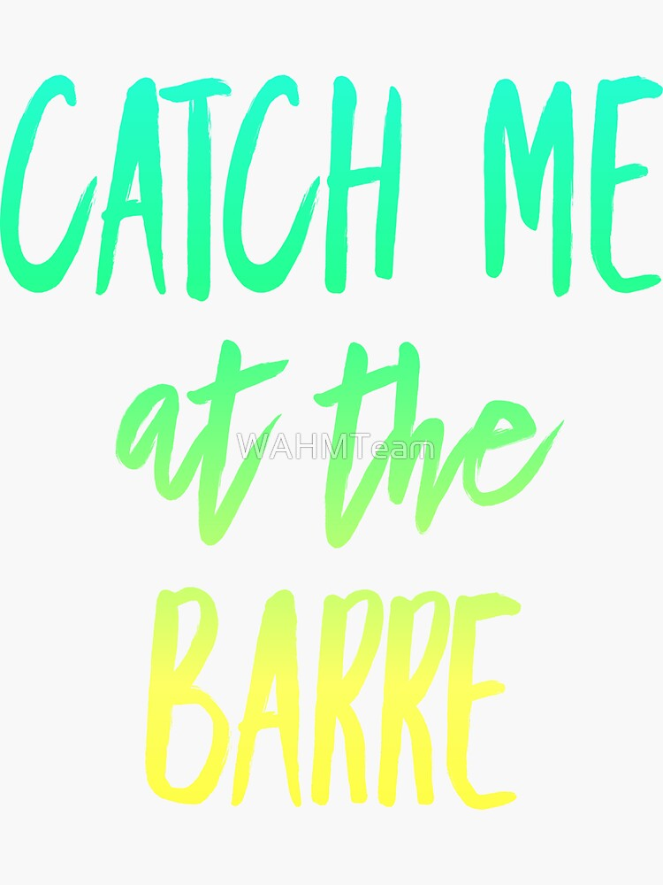Workout Clothes, Catch me at the Barre, Workout Pun, Leggings, Tank Top by WAHMTeam