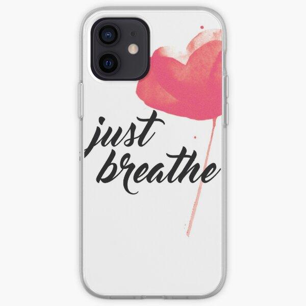 JUST BREATHE iPhone Soft Case
