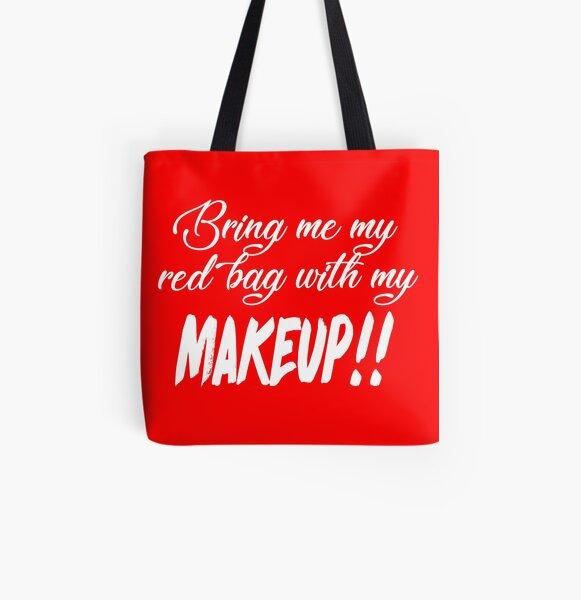 Apportez-moi mon sac rouge avec mon MAQUILLAGE !! 90 jours Fiance TV Quotes Tote bag doublé