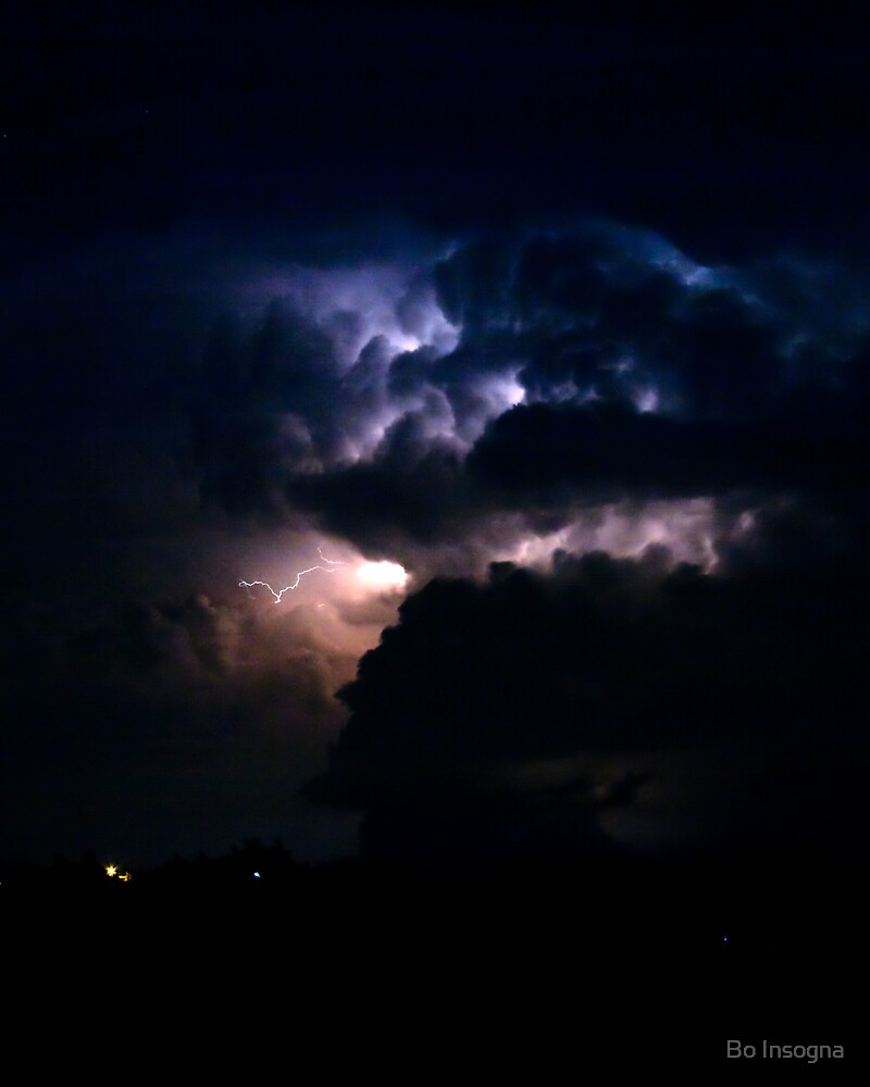 Massive Cloud to Cloud Lightning by Bo Insogna