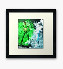 Fire and Ice DC Comics  Framed Print