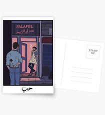 NACHT ROMANCE Postkarten