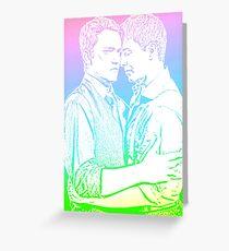 Janto - Captain Jack Harkness and Ianto Jones  Greeting Card