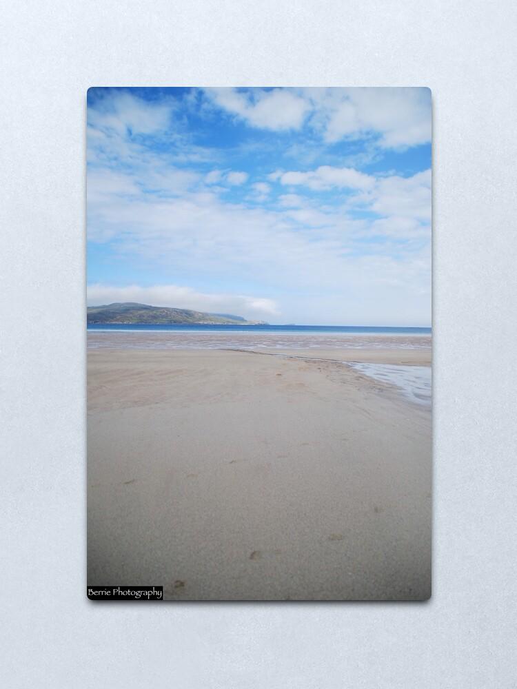 Alternate view of Balnakeil Beach 1 Metal Print