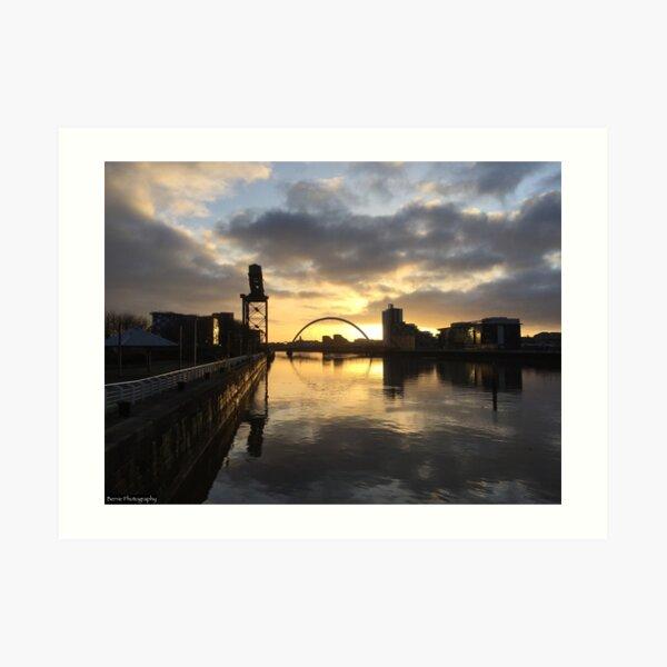 Good Morning Glasgow Art Print