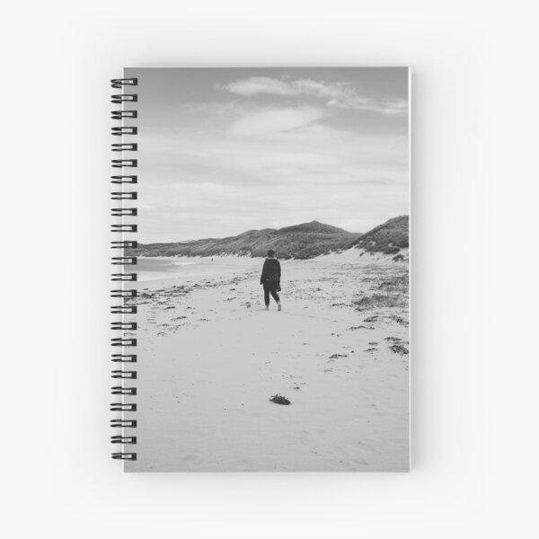 Lone Walker Spiral Notebook