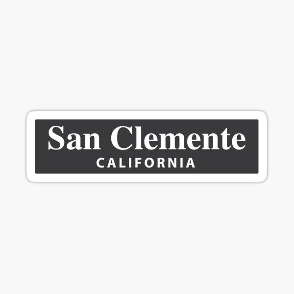 San Clemente, California Sticker