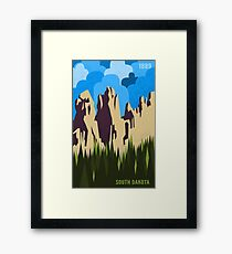 South Dakota Framed Print