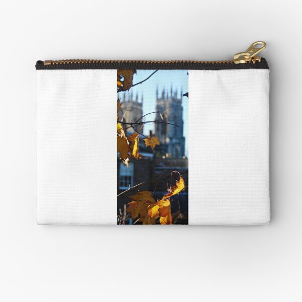 Autumn Leaves In York Zipper Pouch